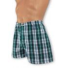 Zöld kockás boxer alsónadrág 181