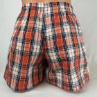 Narancssárga szőtt kockás alsónadrág 192