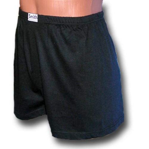 Fekete pamut alsónadrág
