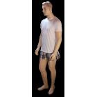 Fehér rövid pizsama