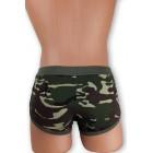 Terep mintás stretch alsónadrág, csípő fazon