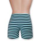 Kék csíkos mintás stretch alsónadrág