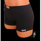 Fekete rövid stretch alsónadrág
