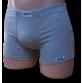 Melír szürke rövid stretch alsónadrág
