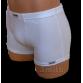 Fehér rövid stretch alsónadrág