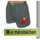 Matricás kockás boxerek M méretben
