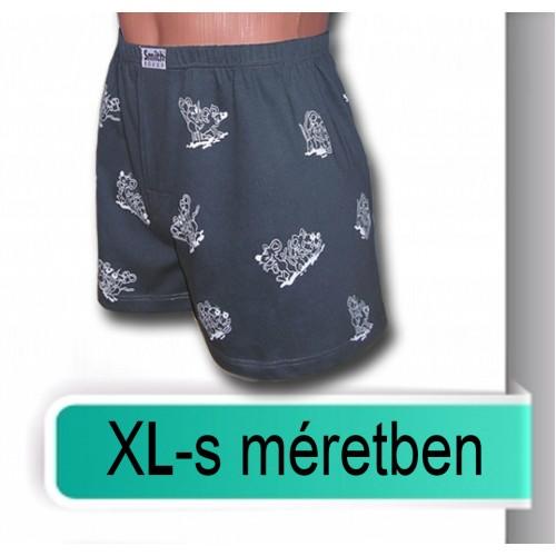 Mintás pamut alsók XL méretben