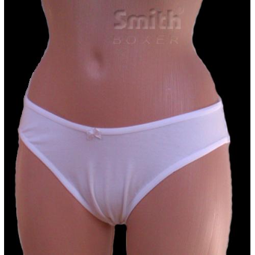 Fehér pamut női alsó