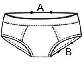 Csók mintás stretch alsónadrág 60a22b1b53